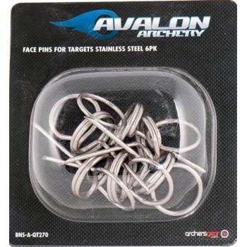 Pack de 6 clous Avalon Stainless Steel