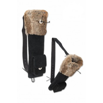 Carquois de dos Buck Trail Small Husk with Fur