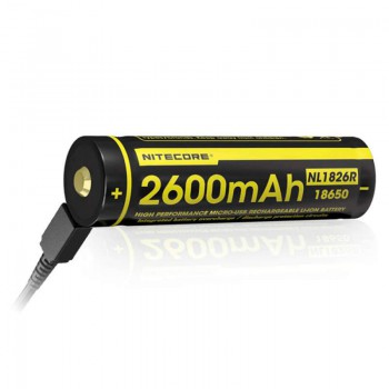 Batterie rechargeable Nitecore Li-Ion