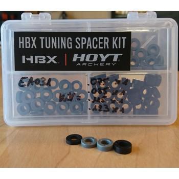 """Kit de 4 rondelles """"Hoyt HBX Tuning Spacer"""""""