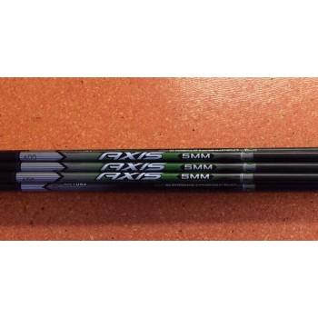 Destockage 1 Douzaine de tubes Axis noir 5mm 600