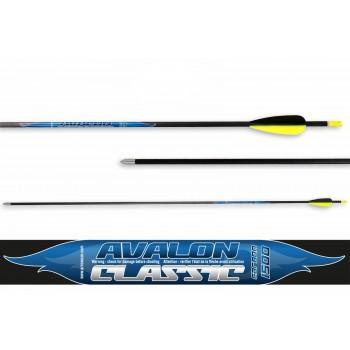 Pack 12 Flèches Avalon Carbon Classique