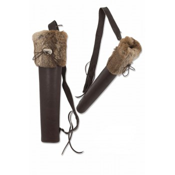 Carquois de dos Buck Trail Big Husk with Fur