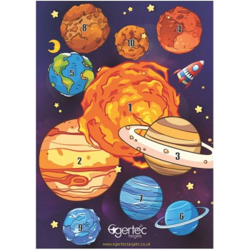 Blason Egertec Planètes