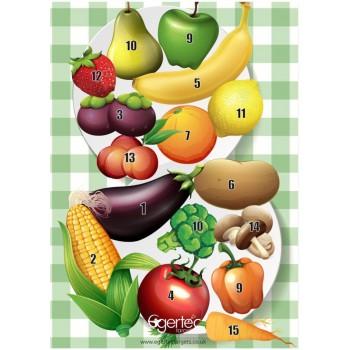 Blason Egertec Fruits et Legumes