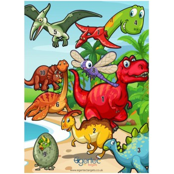 Blason Egertec Dinosaures
