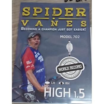 "Sachet 60 plumes Spider Vanes 1.5"" Model 702"