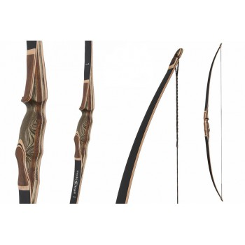 arc Longbow Buck Trail Black Hawk 68""
