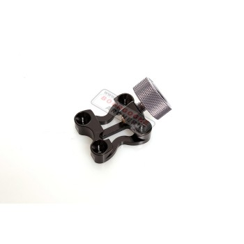 Axcel bow mounting bracket with knob
