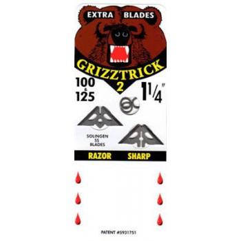 Pack lames de rechange Slick Trick Grizztrick 2