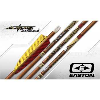 Douzaine tubes Easton Carbon 5mm Axis Traditional