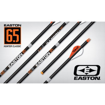 Douzaine tubes Easton Carbon 6.5 Hunter Classic