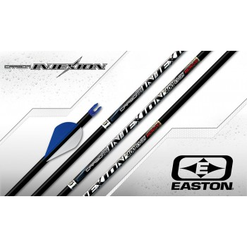 Douzaine tubes Easton Carbon Injexion 4mm (Deep Six)