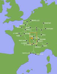 Accès vue carte France